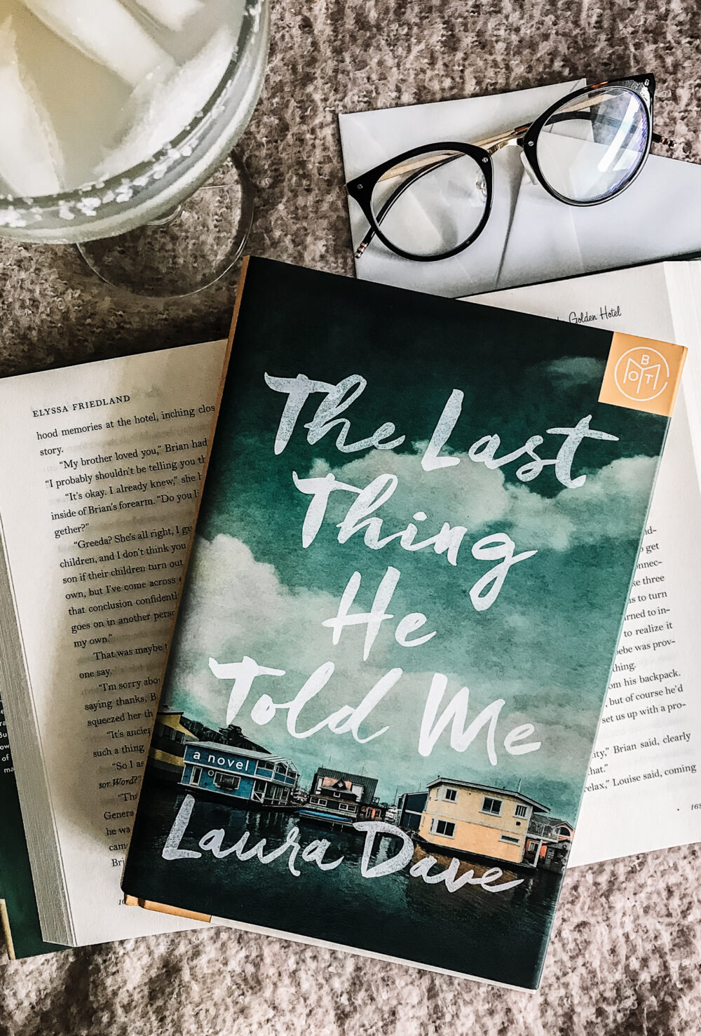 The Last Thing He Told Me Book Cover